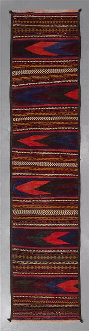Sale 8493C - Lot 27 - Persian Kilim Runner 288cm x 62cm