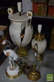 Sale 8518 - Lot 2328 - 4 Table Lamps