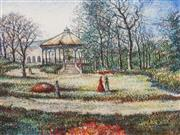 Sale 8606 - Lot 547 - Hugues Claude Pissarro (1935 - ) - Botanical Gardens 36.5 x 49cm