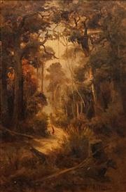 Sale 8624 - Lot 571 - James Peele (1847 - 1905) - Lake Aotea Tracks, 1909 59.5 x 39.5cm