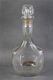 Sale 8802 - Lot 241 - Jack Daniels Lidded Glass Bottle, Lynchburg Tennessee