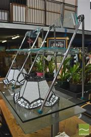Sale 8289 - Lot 1069 - Pair of Perspex Folding Chairs