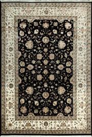 Sale 8338C - Lot 37 - Jaipor Silk & Wool 165cm x 240cm