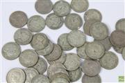 Sale 8635 - Lot 54 - 39 x New Zealand Shillings; 1933-51 (224g).