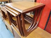 Sale 8705 - Lot 1058 - Vintage Parker Coffee Table with Rattan Shelf Below