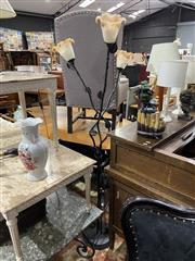 Sale 8876 - Lot 1092 - Metal Floor Lamp