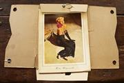 Sale 8319 - Lot 424 - A photographic album featuring Hollywood still black and white images of the actress Rita Hayworth