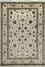 Sale 8338C - Lot 38 - Jaipor Silk & Wool 166cm x 238cm