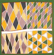 Sale 8459 - Lot 551 - Billy Yalwanga (1952 - ) - Muta, 2003 175 x 171cm (stretched & ready to hang)