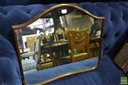 Sale 8472 - Lot 1073 - Timber Framed Mirror