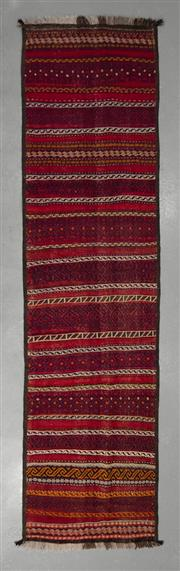 Sale 8493C - Lot 29 - Persian Kilim Runner 282cm x 75cm