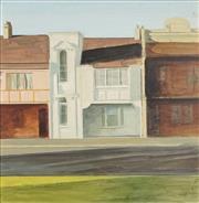 Sale 8722 - Lot 583 - Bryan Westwood (1930 - 2000) - Untitled (Terrace Houses) 29.5 x 29.5cm
