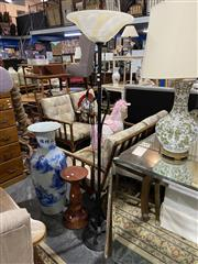 Sale 8876 - Lot 1054 - Metal Floor Lamp