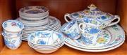 Sale 8891H - Lot 52 - A Masons Ironstone Regency part dinner service, to include seven dinner plates, two entrée plates, five bread plates, five cups and ...