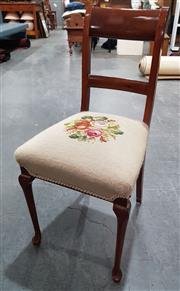 Sale 8988 - Lot 1040 - Regency Style Chair with Tapestry Seat