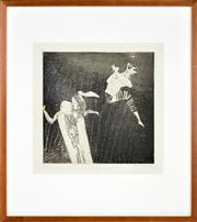 Sale 8344 - Lot 549 - George Baldessin (1939 - 1978) - Acrobat, 1965 30 x 30cm