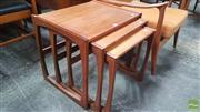 Sale 8409 - Lot 1046 - G-Plan Teak Nest of Tables