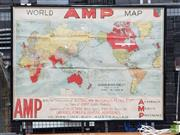 Sale 8625 - Lot 1073A - Ampol Wartime Framed Map -