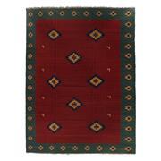 Sale 8870C - Lot 89 - Persian Vintage Qashgai Kilim Rug in Handspun Wool (rare size), 400x300 cm