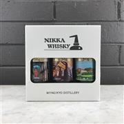 Sale 9062W - Lot 631 - 3x Nikka Whisky Miyagikyo Pure Malt Japanese Whisky - 51% ABV, 120ml bottles in box