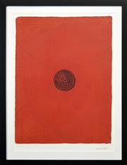 Sale 8288A - Lot 87 - Justin Corby (XX) - Budgerigar Dreaming 91 x 70cm