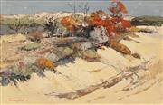 Sale 8624 - Lot 502 - Harold Lane (1925 - 2012) - Beachscape 25 x 39.5cm