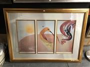 Sale 8807 - Lot 2080 - Brett Whiteley Decorative Prints The American Dream -