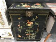 Sale 8817 - Lot 1011 - Oriental Lift Top Cabinet