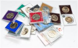 Sale 9156 - Lot 57 - A collection of New Zealand $1 dollar coins