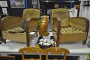 Sale 8284 - Lot 1063 - Pair of Deco Chair Frames