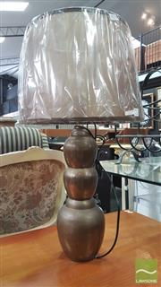 Sale 8404 - Lot 1070 - Antique Style Brass Base Table Lamp (2142/41)