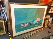 Sale 8631 - Lot 2065 - Max Hayslette - Landscape, 48/200 Details Verso, 98x1500 -