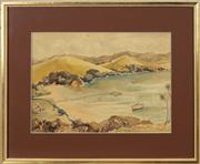 Sale 8767 - Lot 2053 - Edward William Cooke - Otehei Bay, Bay of Islands NZ 26 x 36cm