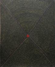 Sale 8781 - Lot 583 - Elizabeth Nungurrayi (1947 - ) - Plum Dreaming, 2000 123 x 100cm (stretched and ready to hang)