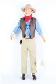 Sale 8827T - Lot 672 - Franklin Heirloom John Wayne Doll