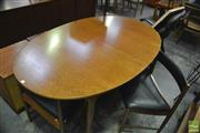 Sale 8350 - Lot 1070 - McIntosh Table and set of 4 Chairs