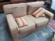 Sale 8601 - Lot 1551 - Fabric 2 Seater Lounge
