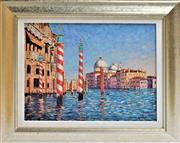 Sale 8778A - Lot 5043 - Diane Monet - Magical Venice 58.5 x 48cm (frame)