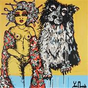 Sale 8826A - Lot 5034 - Yosi Messiah (1964 - ) - Beautiful Moment 102 x 102cm