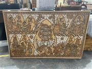 Sale 8995 - Lot 2046 - Indonesian Folk Art, 80 x 126cm (frame)