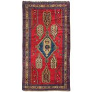 Sale 9020C - Lot 3 - Antique Caucasian Karabagh Rug, 145x245cm, Handspun Wool