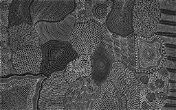 Sale 9125 - Lot 520 - Freda Price Petyarre (1984 - ) Sand Hills acrylic on canvas 152 x 96 cm (stretched and ready to hang) signed verso; certificate of a...