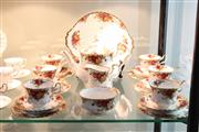 Sale 8288 - Lot 46 - Royal Albert Old Country Roses Tea Setting for Six Persons
