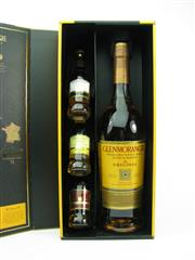 Sale 8329 - Lot 540 - 1x Glenmorangie Distillery Discovery Pack Highland Single Malt Scotch Whisky - 1x 700ml 10YO The Original American Oak Cask, 1x...