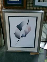 Sale 8582 - Lot 2134 - Patrick Jannin Oms (1944-) Dans Les Plis dni Miroir Etching & Embossing, signed 31/60 85x60cm