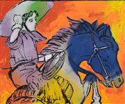 Sale 8870A - Lot 542 - David Bromley (1960 - ) - Easy Rider 50 x 60 cm