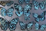 Sale 9001 - Lot 530 - David Bromley (1960 - ) - Butterflies 75 x 111 cm (frame: 85 x 121 x 5 cm )