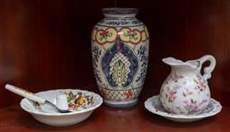 Sale 9155H - Lot 23 - A small collection of sundry ceramics tallest Height 16cm