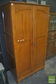Sale 8331 - Lot 1011 - Maple Wardrobe