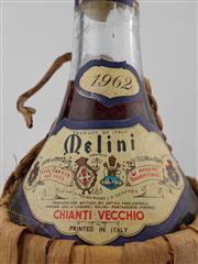Sale 8454W - Lot 90 - 1x 1962 Melini Chianti Vecchio, Chianti